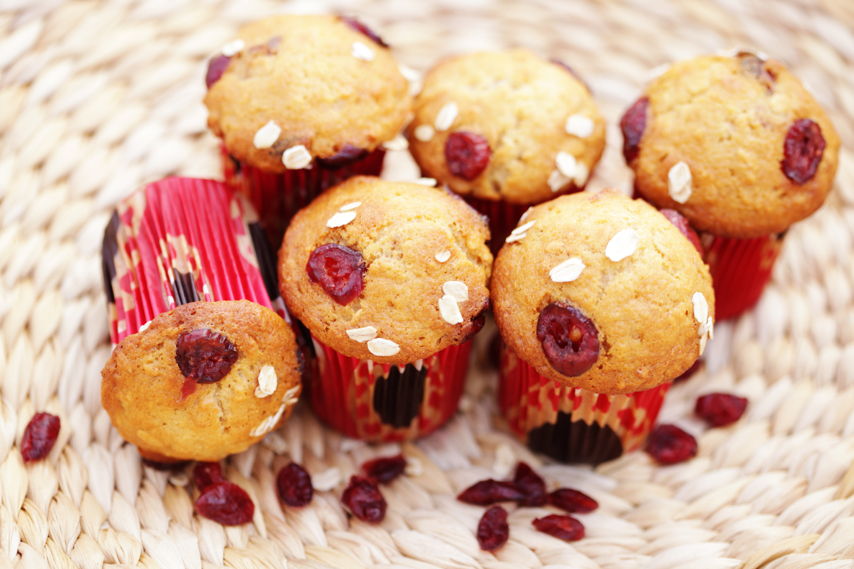 Fairy Cakes With Fruit Dried