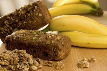 Gluten free sugar free date and banana loaf