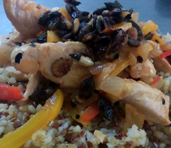 Recipe: Quick lemon chicken stir fry