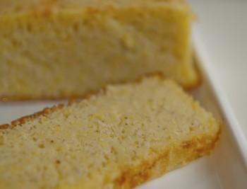 Orange polenta portions: Porzjonijiet tal-polenta bil-larinġ