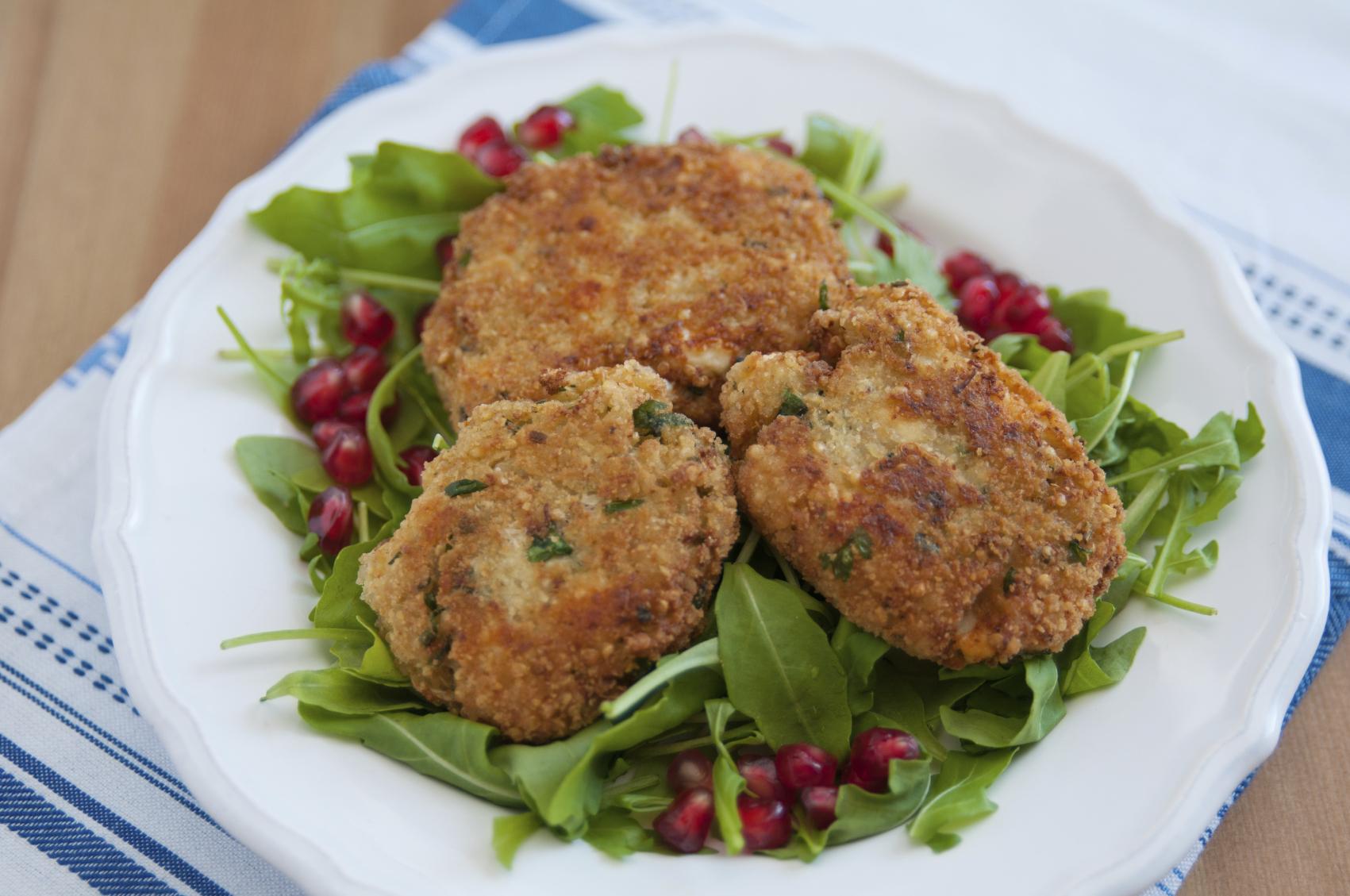 Quinoa and ricotta vegetarian patties: Pulpetti veġetarjani bil-quinoa u l-irkotta