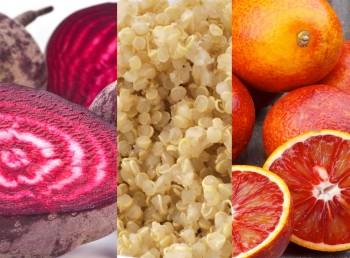 Beetroot orange quinoa salad