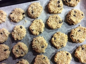 Gluten free choc chip cookies by Lea Hogg
