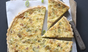 Blue cheese and onion tart- Torta tal-basal u ġobon tat-tursina