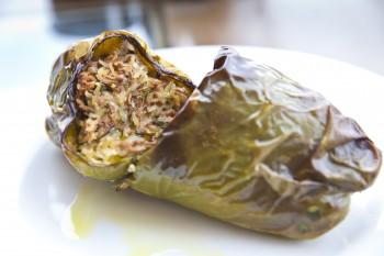 Traditional Maltese Recipe: Bżar aħdar mimli (Stuffed green peppers)