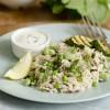 Rice with lemon and broad beans : Ross bil-lumi u l-ful