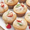 Low fat strawberry muffins