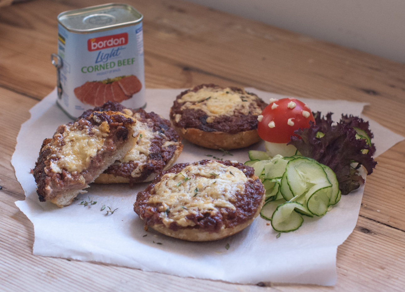 Antonia Borg Bonaci BORDON Recipe: Corned beef melts