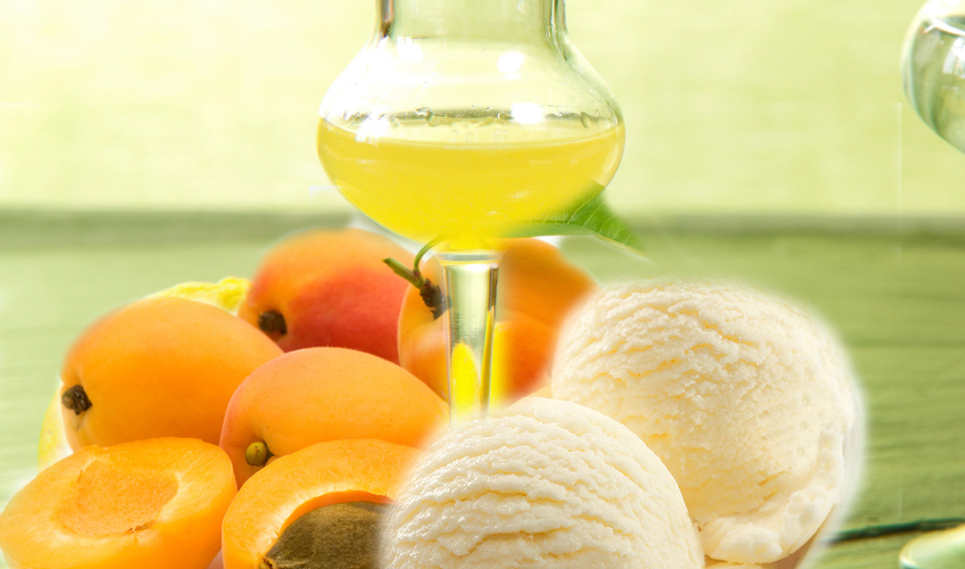 Apricot-with-limoncello-and-icecream