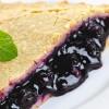 Black mulberry pie