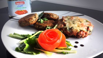 Recipe: Mushroom and Bordon patties