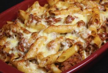 Recipe: Kale and Maltese sausage pasta bake