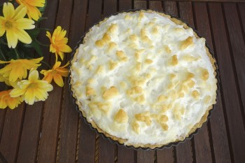 Riċetta: Pineapple meringue pie