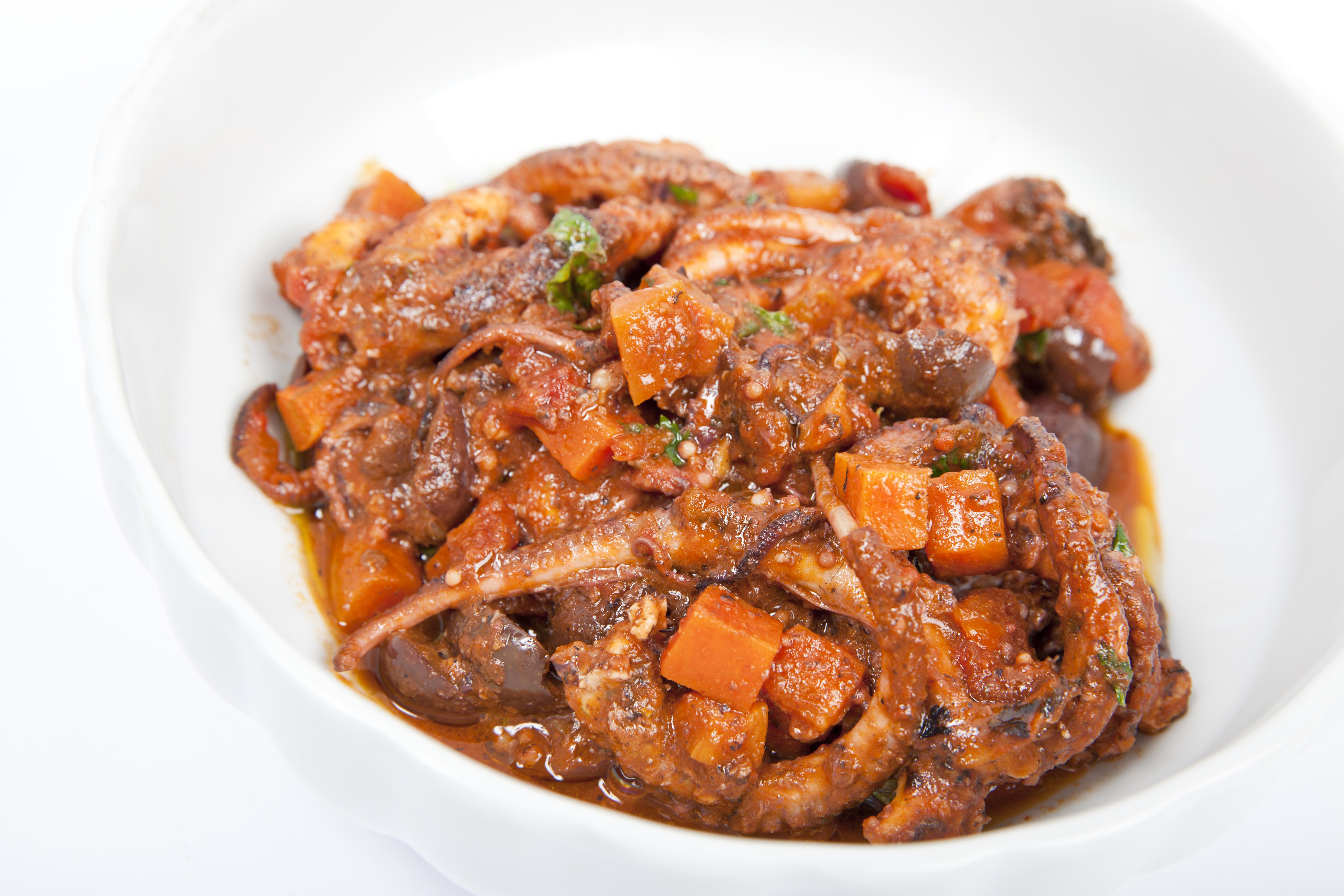 Maltese Traditional Recipe Stuffat Tal Qarnit Octopus