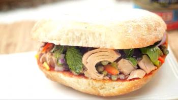 Traditional Maltese recipe: Tuna ftira