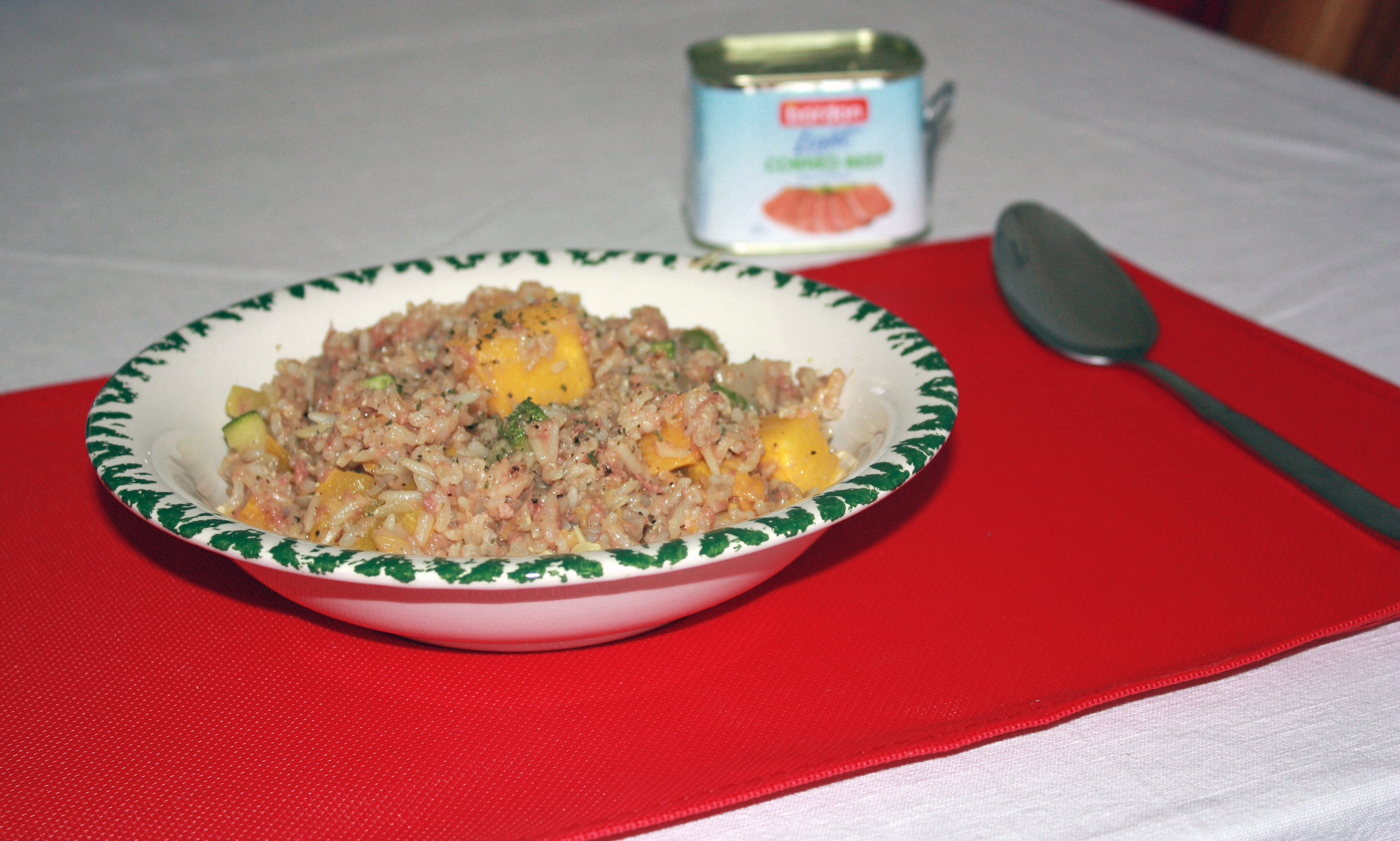Abigail Cutajar BORDON Recipe: Pumpkin, marrow and corned beef risotto