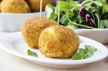 Recipe: Arancini (rice balls)
