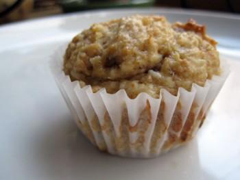 Riċetta: Muffins tal-banana u coconut bla zokkor u bla żjut jew butir