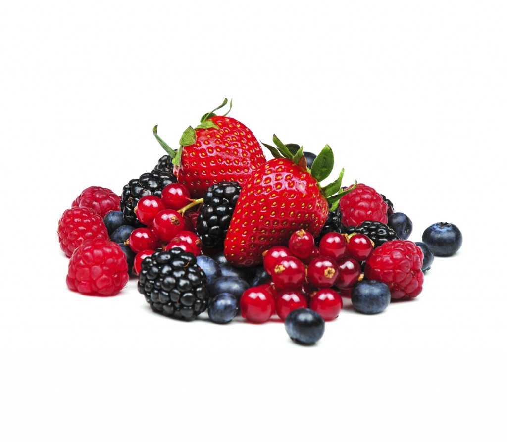 Blackberries, strawberries, blueberries, etc