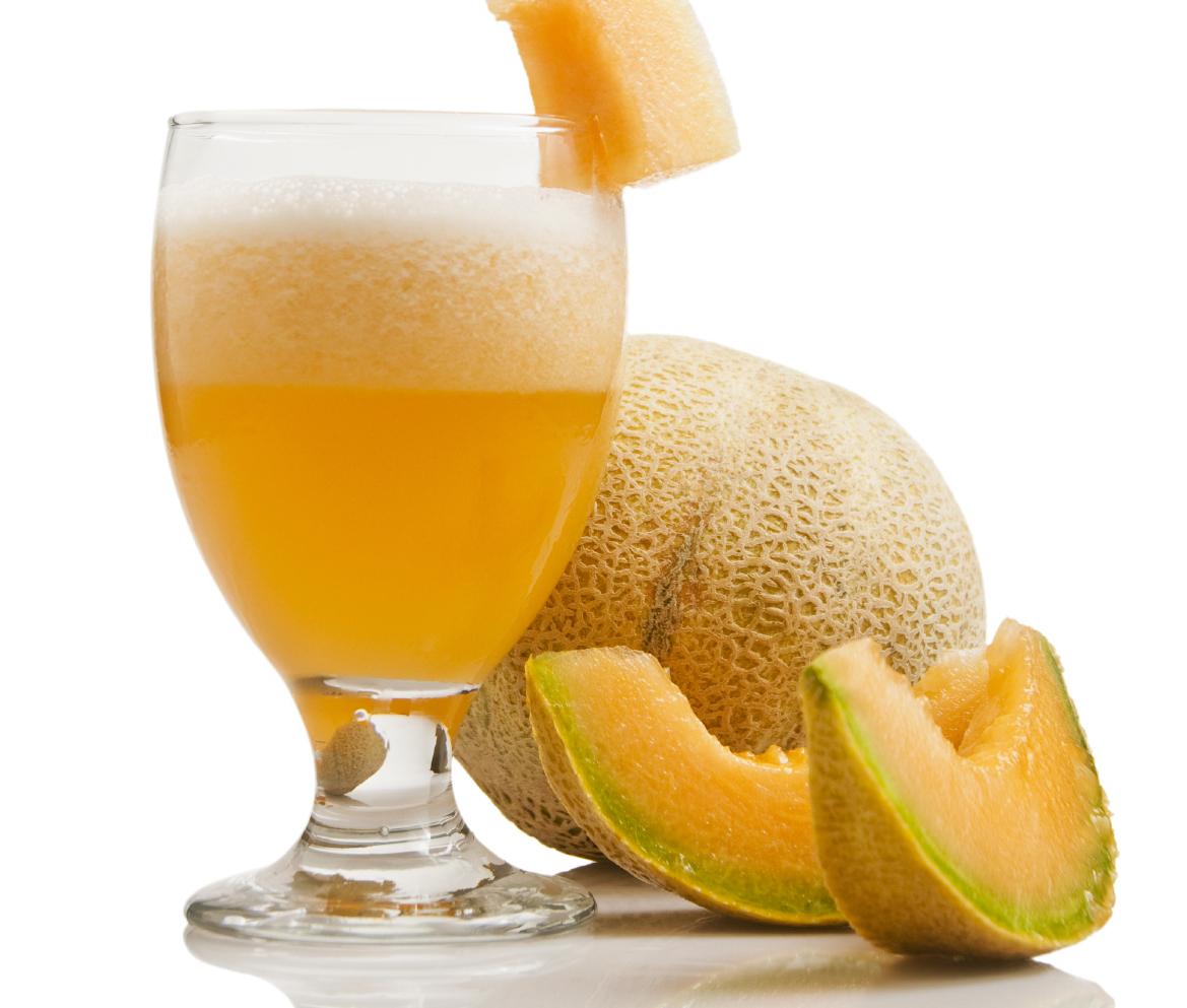 Cantaloupe drink