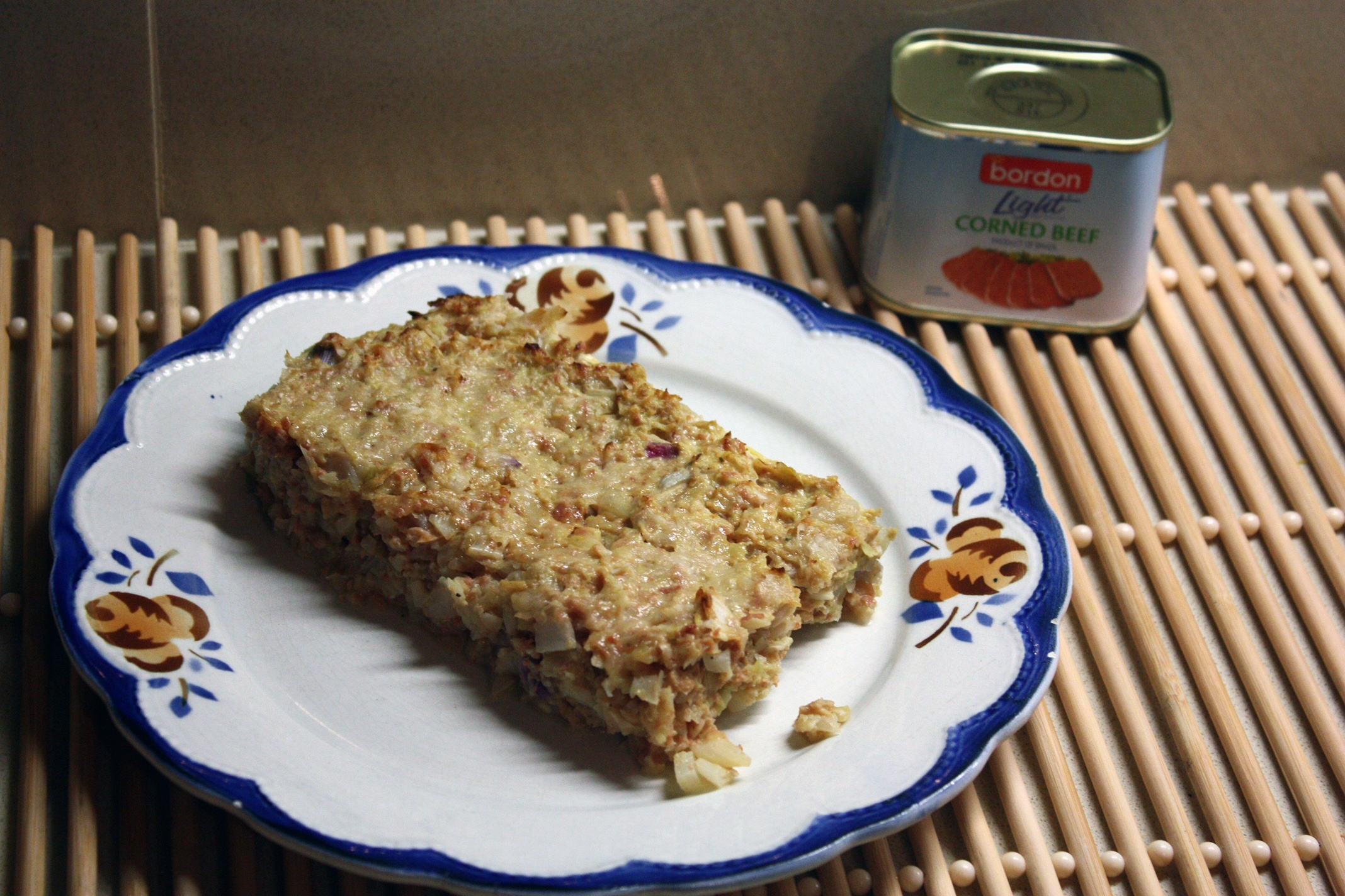 Johann Cutajar BORDON Recipe: Cabbage and corned beef bake