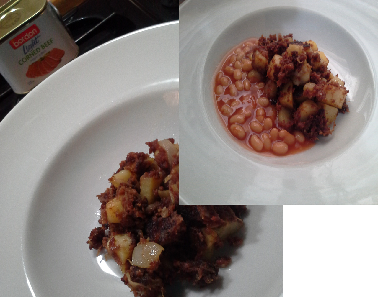 Matthew Attard BORDON Recipe: Corned beef hash side