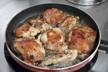 Recipe: Pan-fried chicken with rosemary