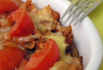 Vegetarian recipe: Pasta bake