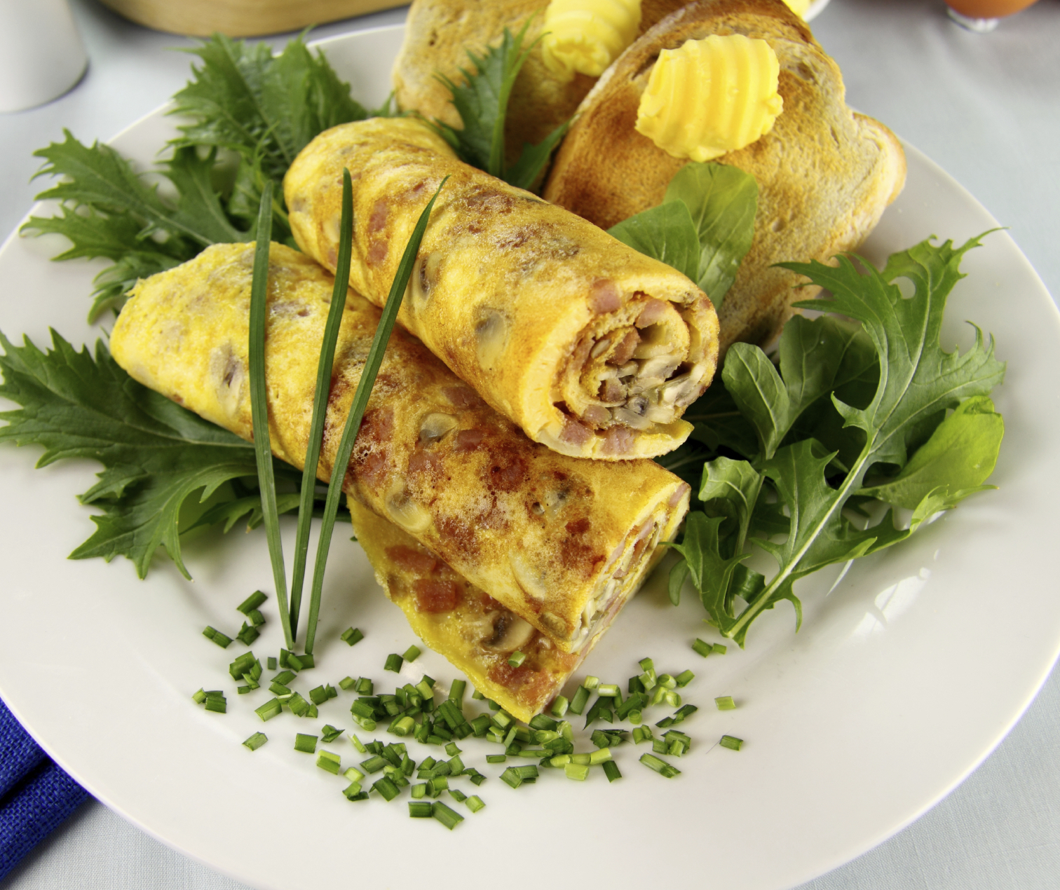 Rolled Omelette