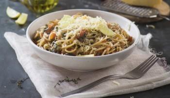 Sicilian-style vegetarian spaghetti recipe