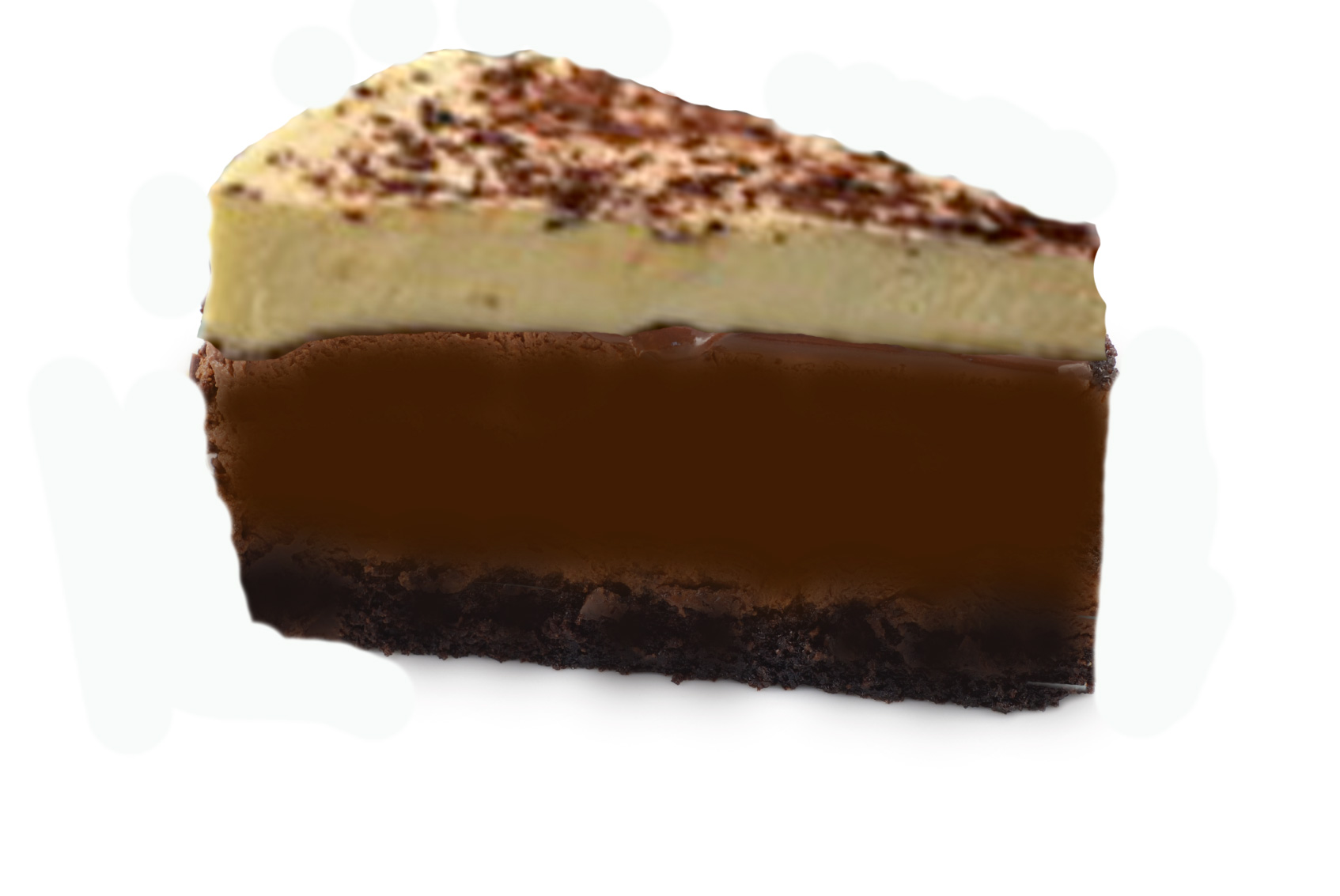 Triple-chocolate-cheesecake-