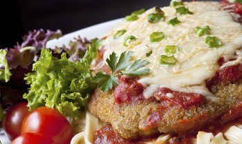 Recipe:  Breaded veal in tomato sauce