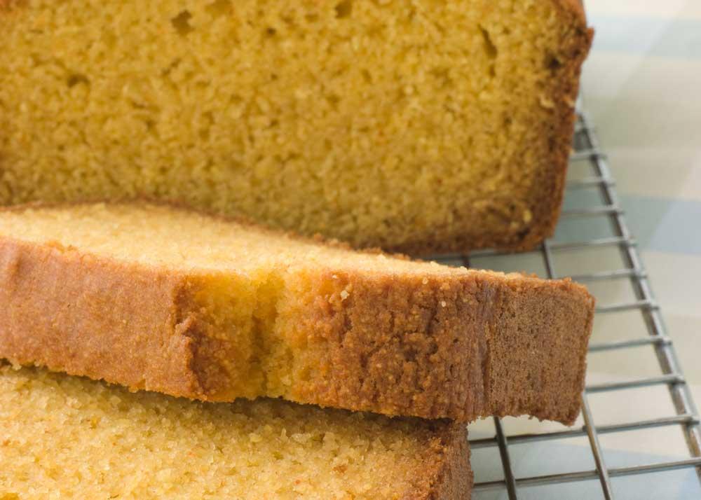 polenta-bread