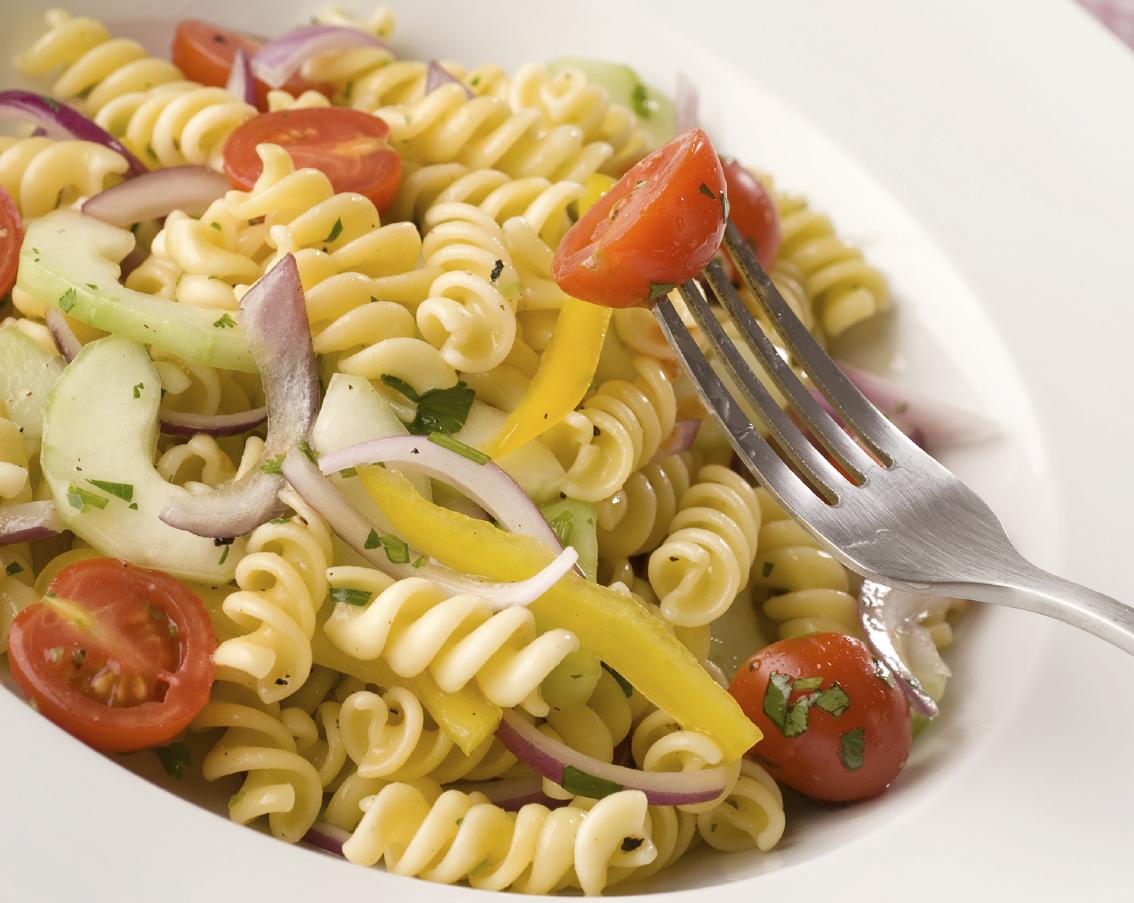 Fussili salad