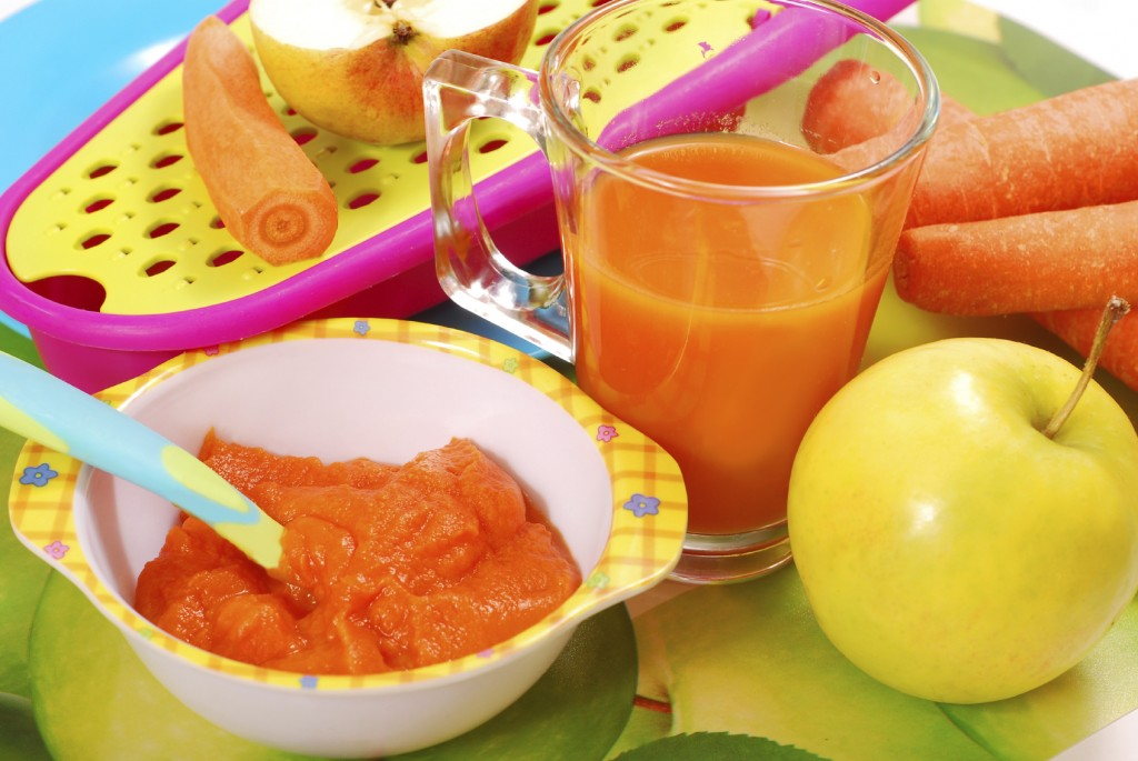 Home-made baby food