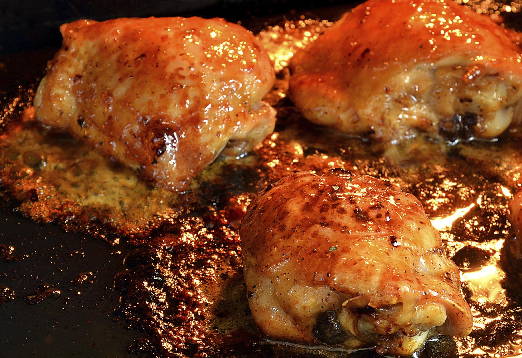 Honey chicken thighs