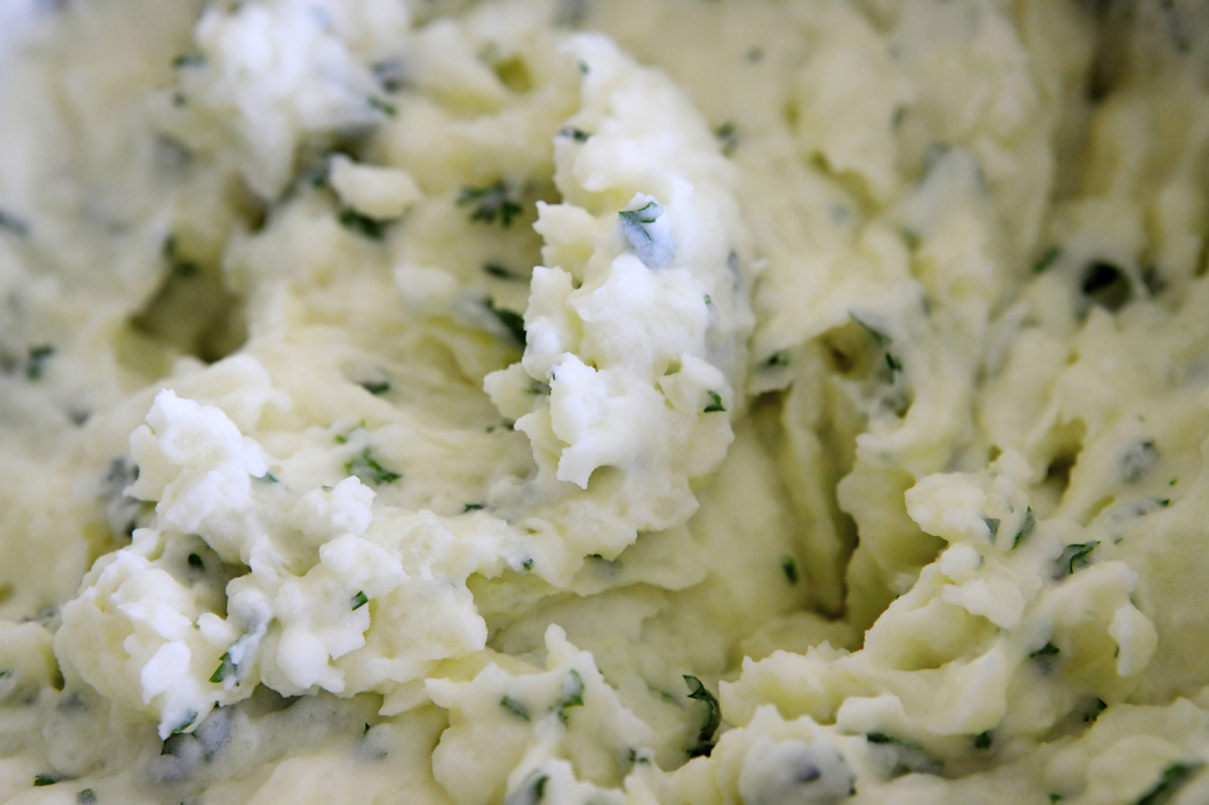 Mashed potatoes with herbs