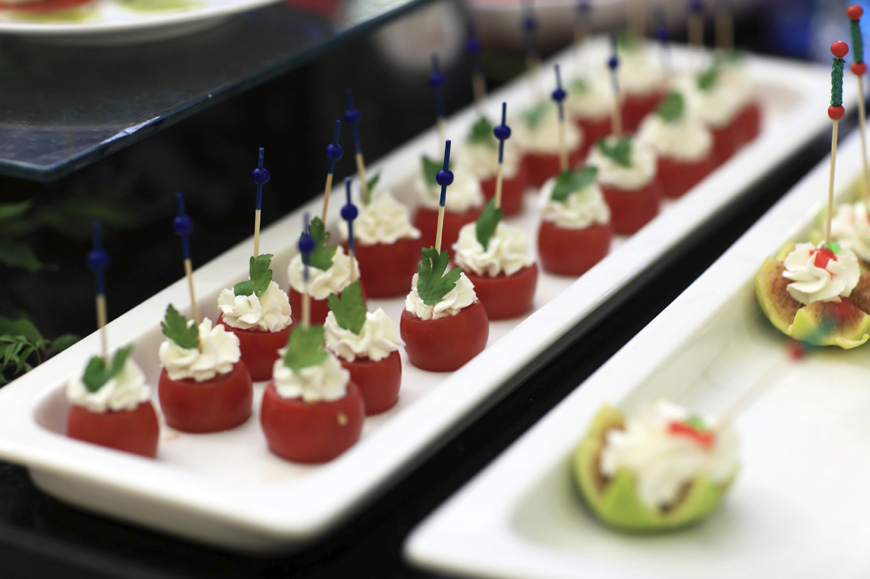 Canapé selection