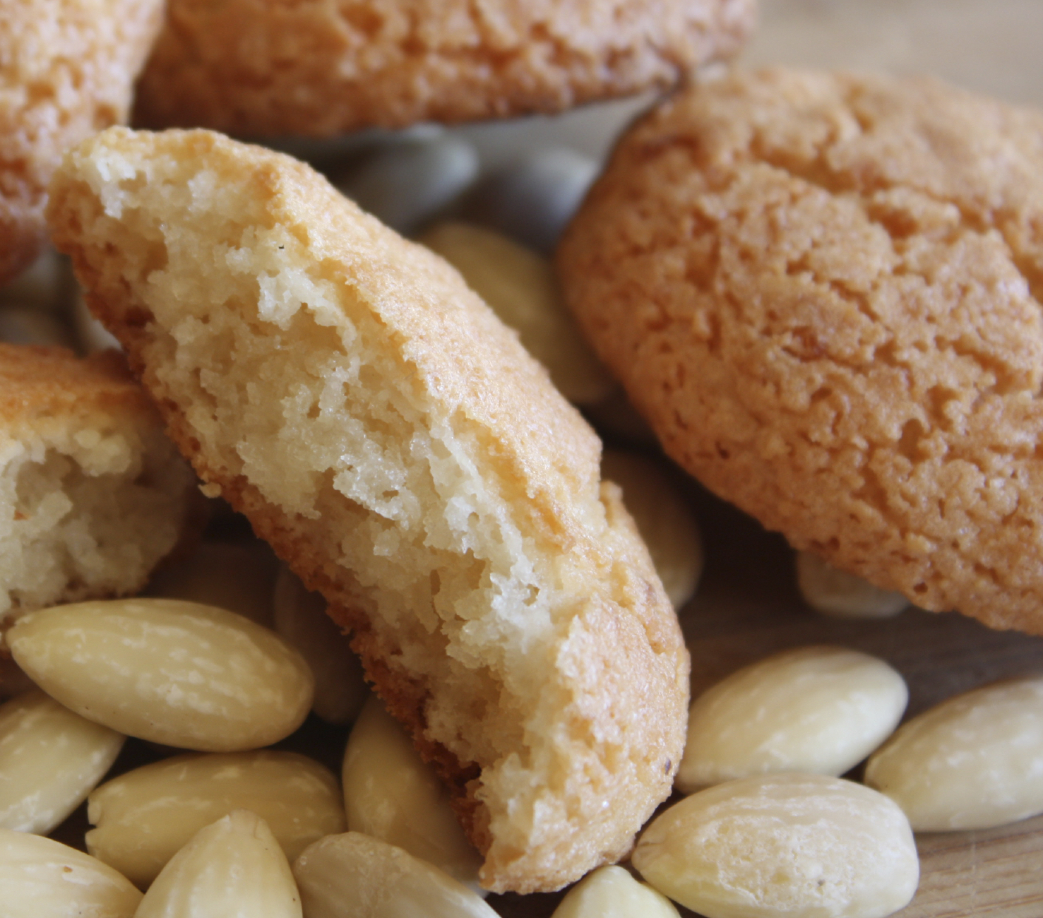 Almond Cookies Recipe — Dishmaps
